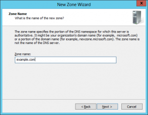 New Domain Wizard - 04 - Domain Name