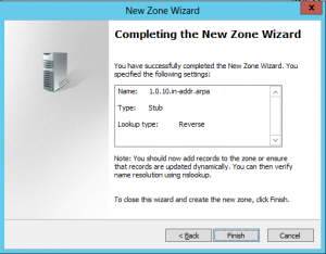 New Domain Wizard - 09 - Reverse Complete